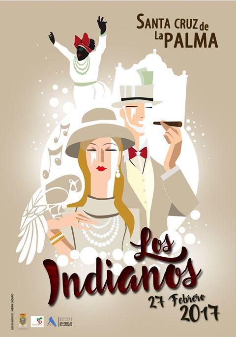 Cartel anunciador de los Indianos 2017.